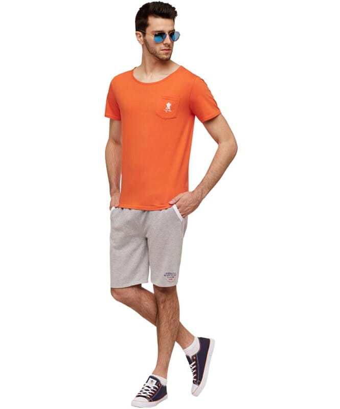 Summerfresh T-Shirt DELIA Herren orange