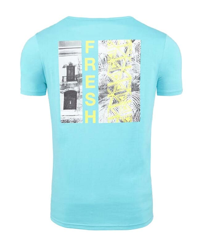 Summerfresh T-Shirt DELIA Herren hellblau