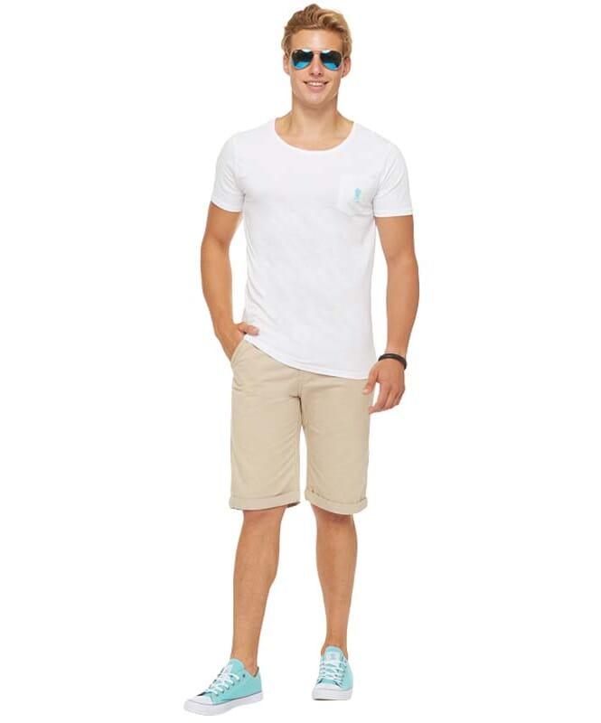 Summerfresh T-Shirt DELIA Herren weiß