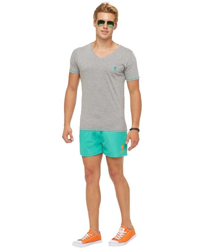 Summerfresh T-Shirt LEXXY Herren grau