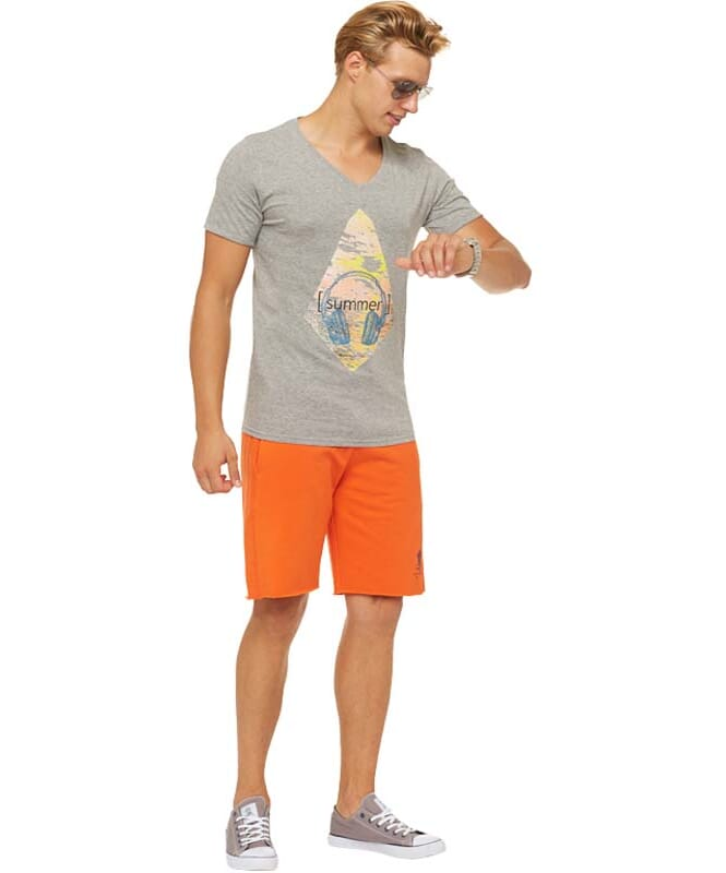 Summerfresh T-Shirt PATTY Herren grau