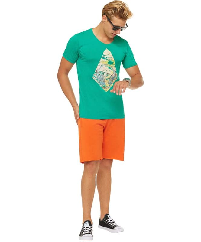 Summerfresh T-Shirt PATTY Herren grün