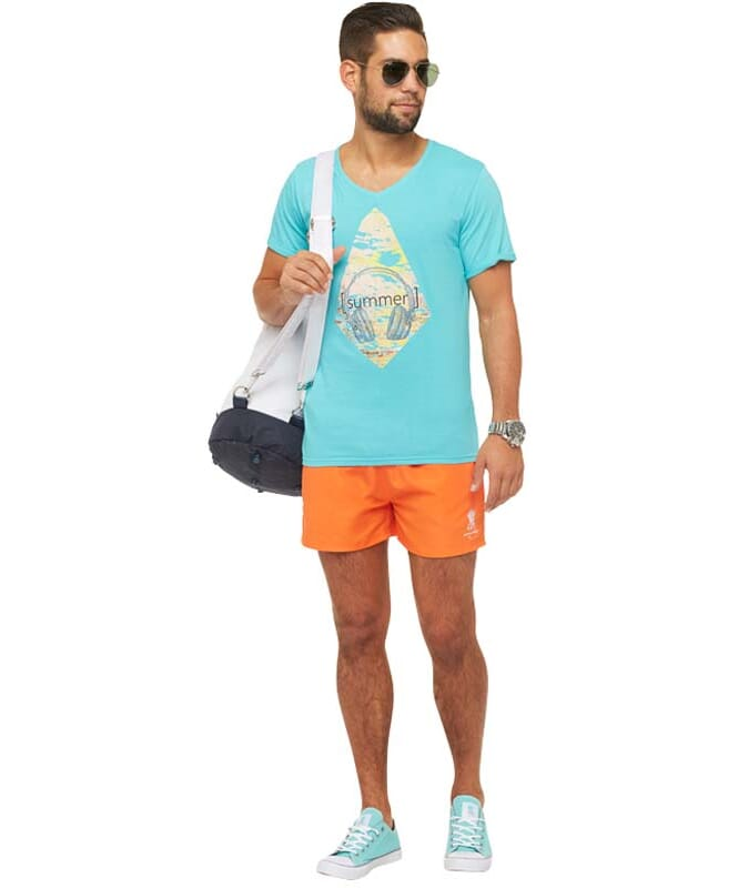 Summerfresh T-Shirt PATTY Herren hellblau