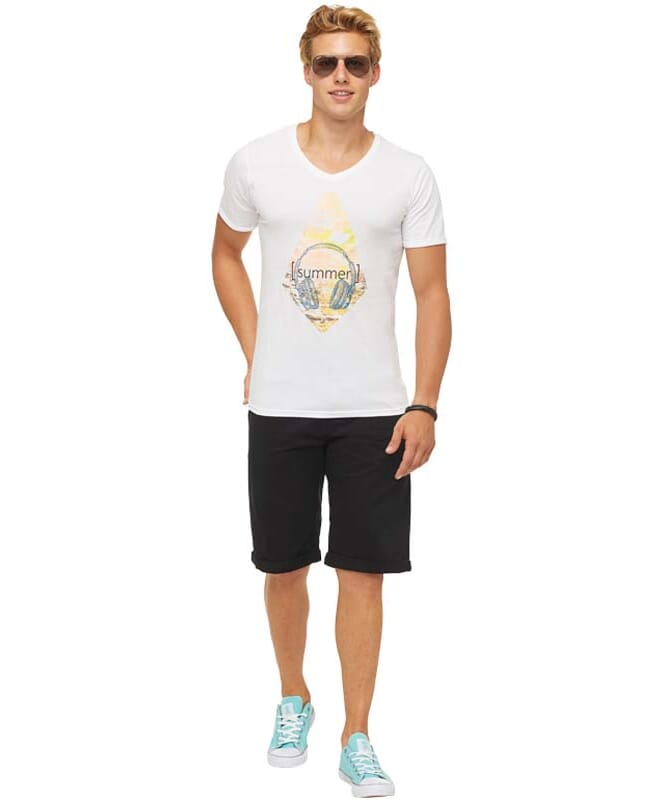 Summerfresh T-Shirt PATTY Herren weiß