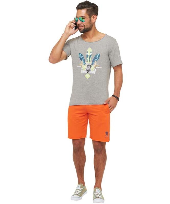 Summerfresh T-Shirt ENZO Herren grau