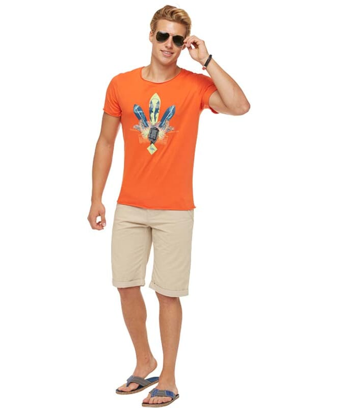 Summerfresh T-Shirt ENZO Herren orange
