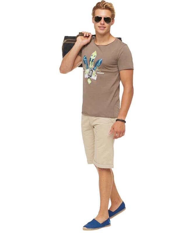 Summerfresh T-Shirt ENZO Herren hellbraun