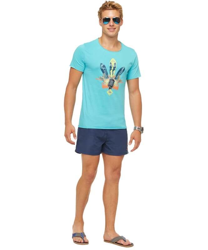 Summerfresh T-Shirt ENZO Herren hellblau