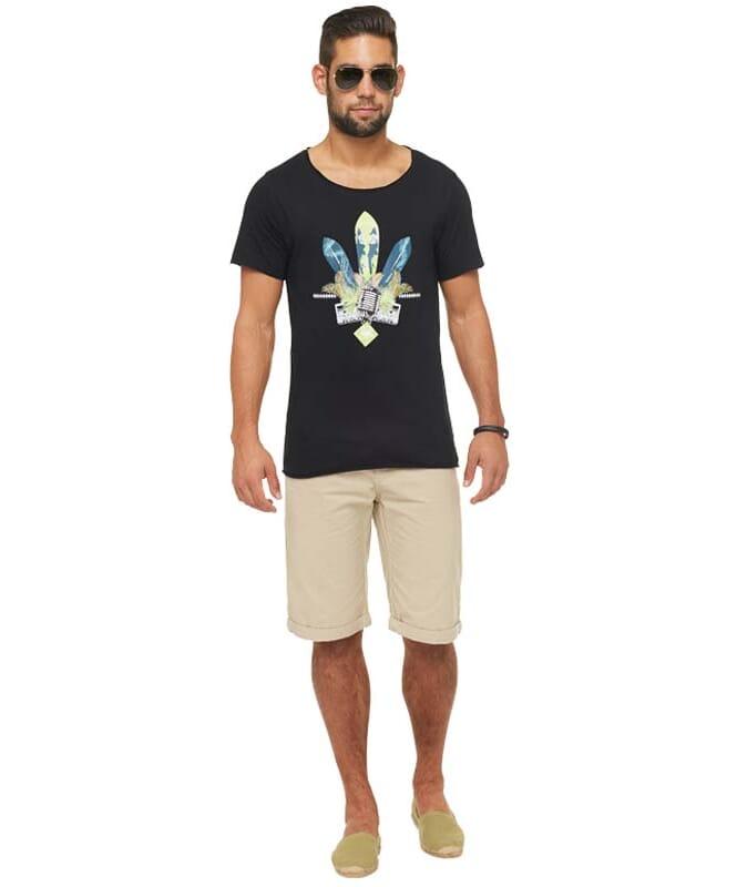 Summerfresh T-Shirt ENZO Herren schwarz