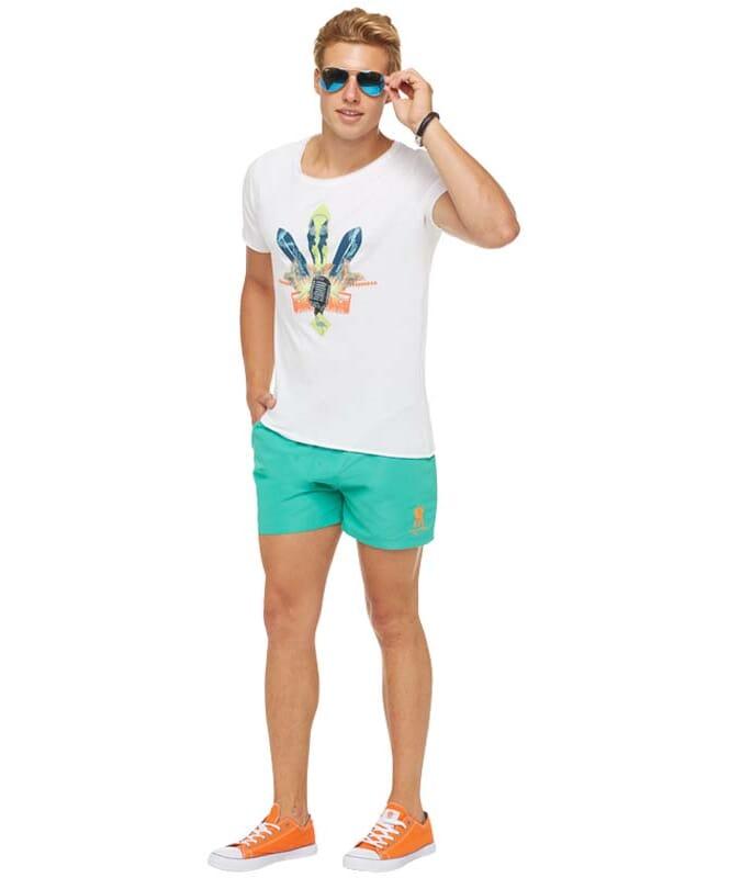 Summerfresh T-Shirt ENZO Herren weiß