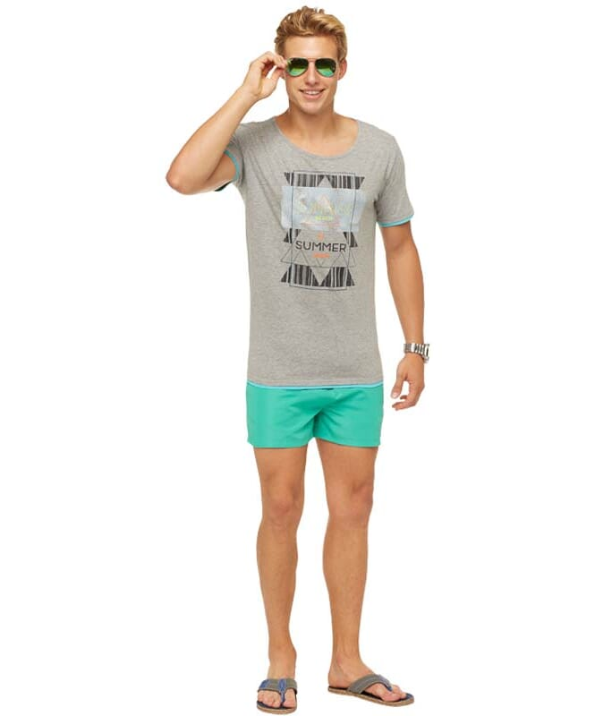 Summerfresh T-Shirt LUCA Herren grau