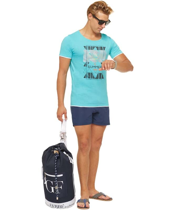 Summerfresh T-Shirt LUCA Herren hellblau