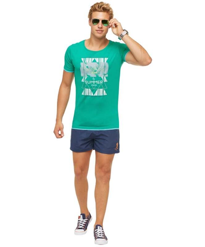 Summerfresh T-Shirt LUCA Herren grün