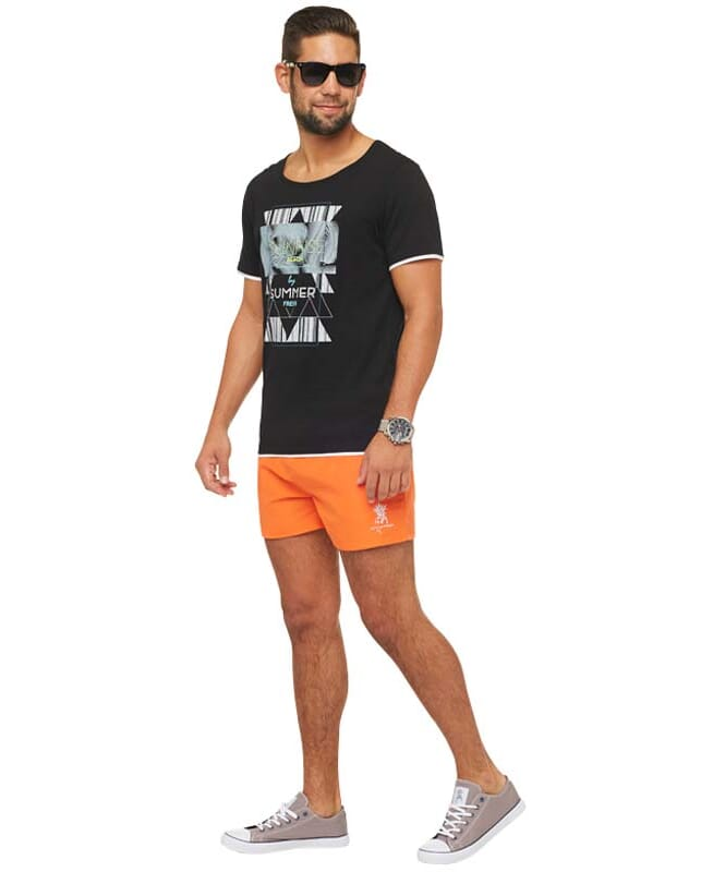 Summerfresh T-Shirt LUCA Herren schwarz