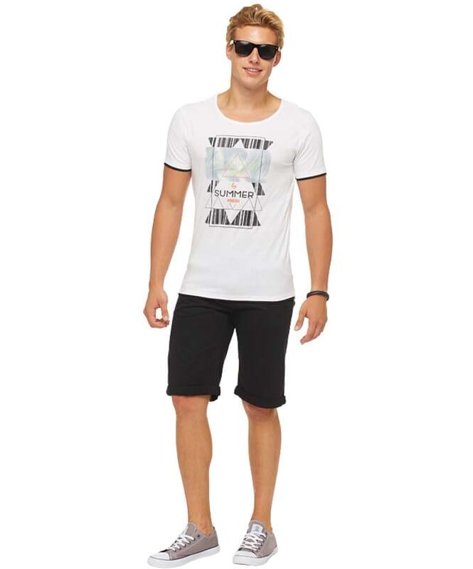 Summerfresh T-Shirt LUCA Herren weiß