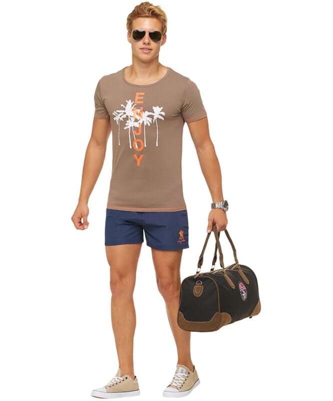 Summerfresh T-Shirt LUAN Herren hellbraun