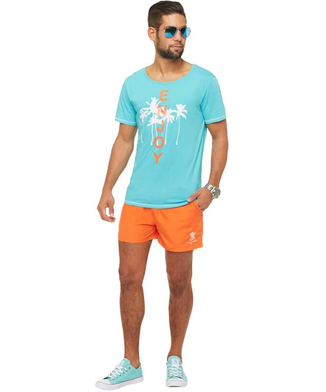 Summerfresh T-Shirt LUAN Herren hellblau