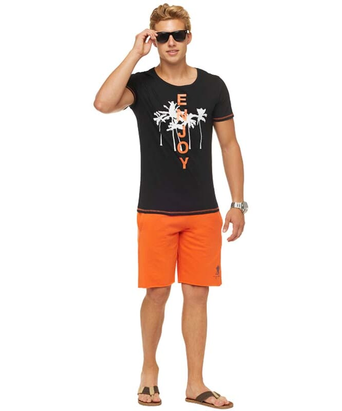 Summerfresh T-Shirt LUAN Herren schwarz