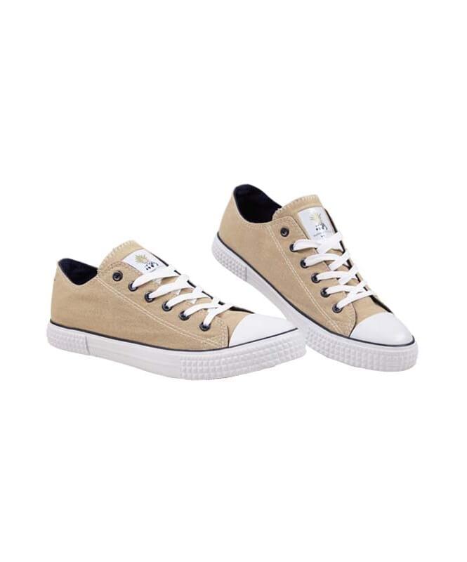 Summerfresh Sneaker PARADISO Herren hellbraun-navy