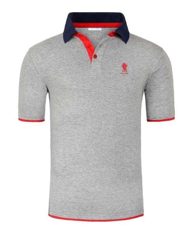 Summerfresh Poloshirt KEYS Herren grey melange