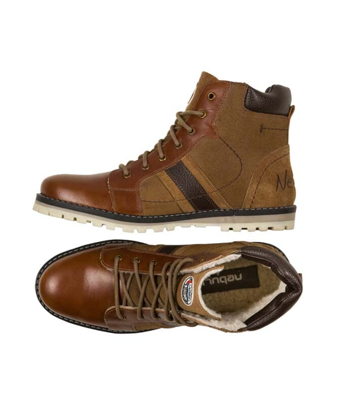 Winterstiefel WALKER Herren tan_braun