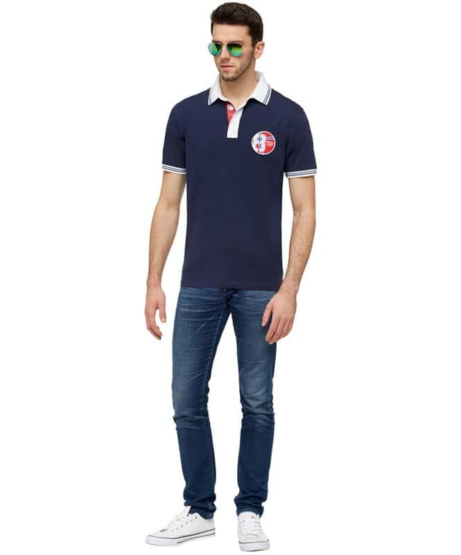 Polo-Shirt LAUX Herren navy
