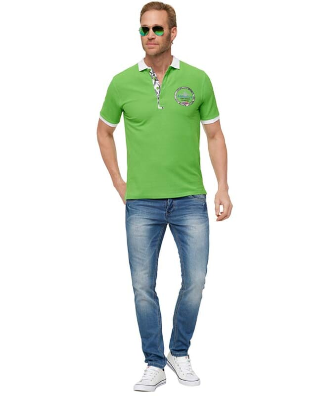 Poloshirt VITO Herren kiwi