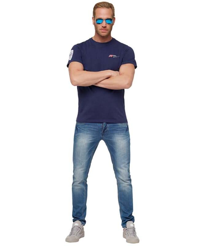 T-shirt LILLEBROR Homme navy