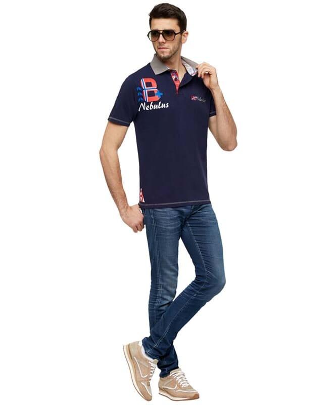 Poloshirt TORE Herren navy