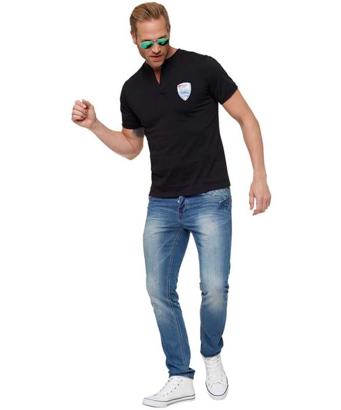 T-Shirt VINCE Herren deep-black