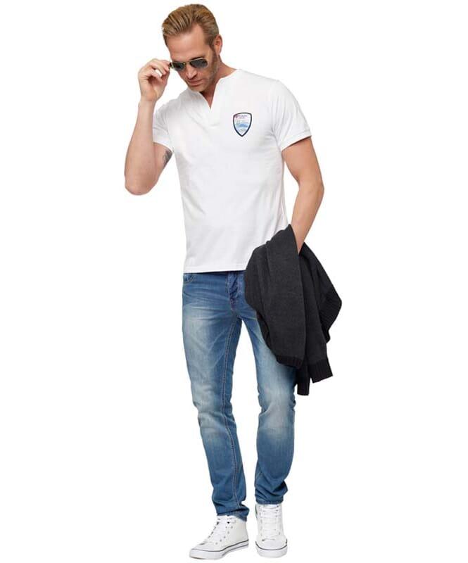 T-Shirt VINCE Herren pure-white