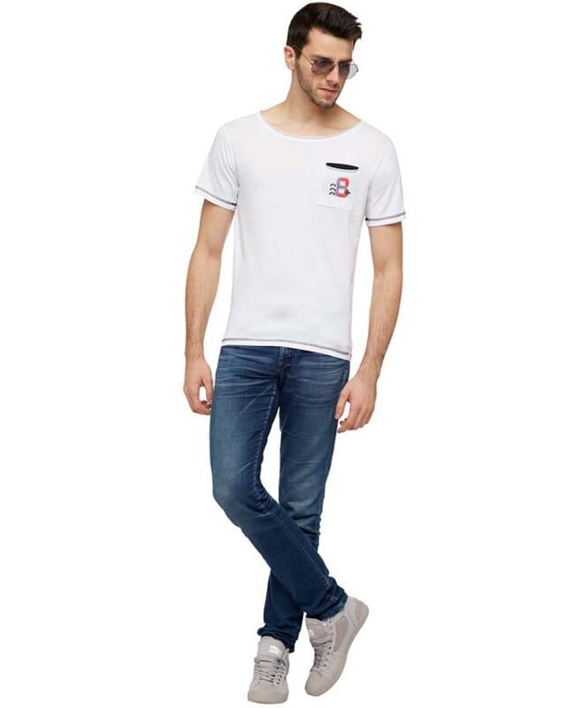 T-Shirt HOLM Herren weiß