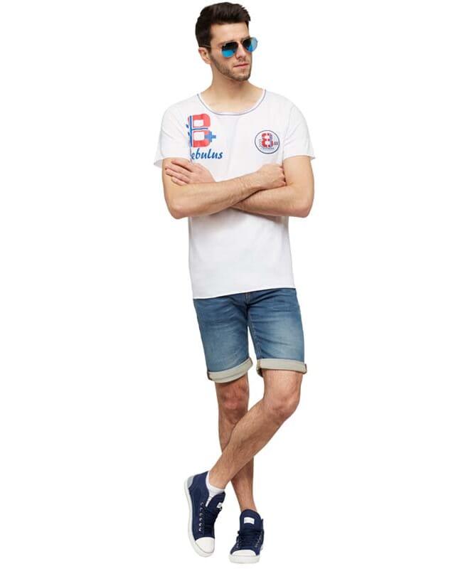 T-Shirt IVER Herren weiß