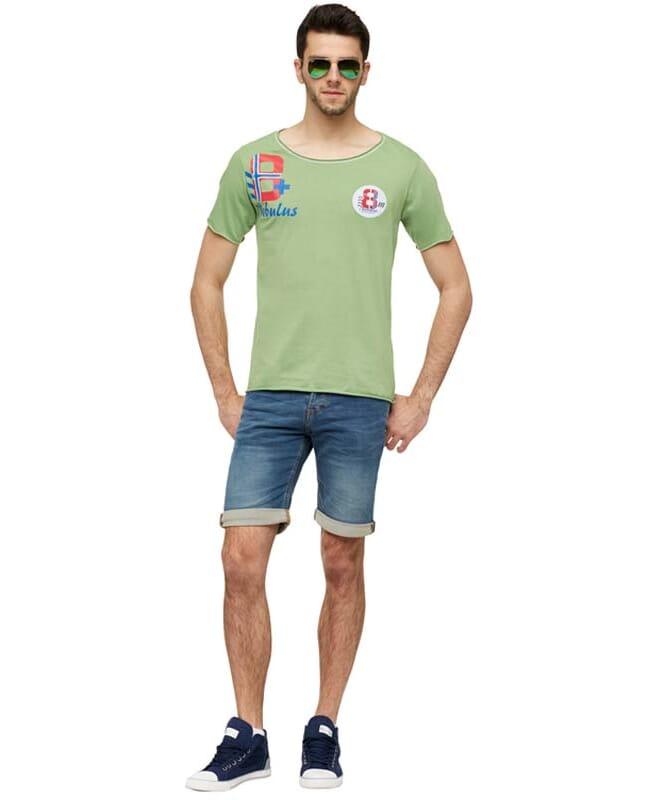 T-Shirt IVER Herren grün