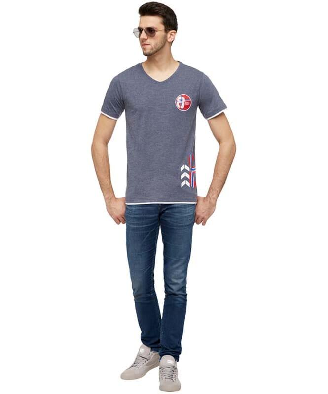 T-Shirt ENDRIT Herren navy