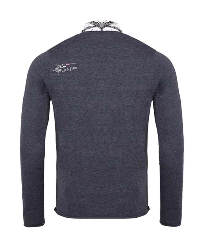 Sweater PASCO Herren navy