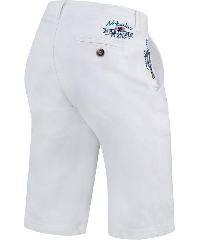 Chino Short LORENS Herren pure-white