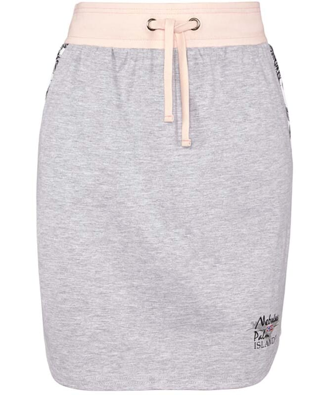 Rock SWEAT PALM Damen grau