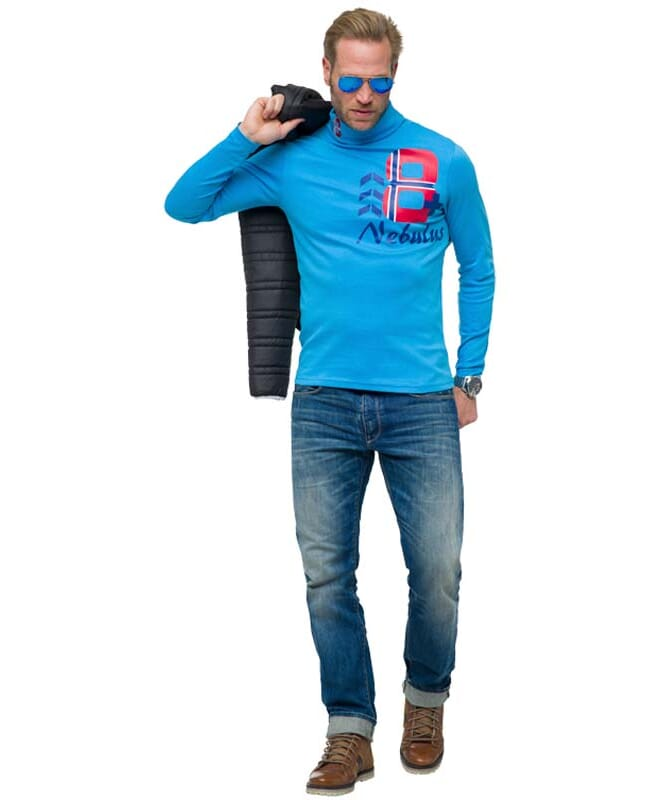Baumwollrolli EMAN Herren blau