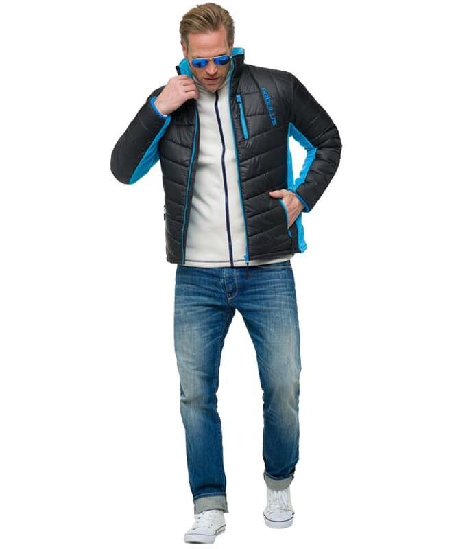Winterjacke GRAPH Herren schwarz-blau