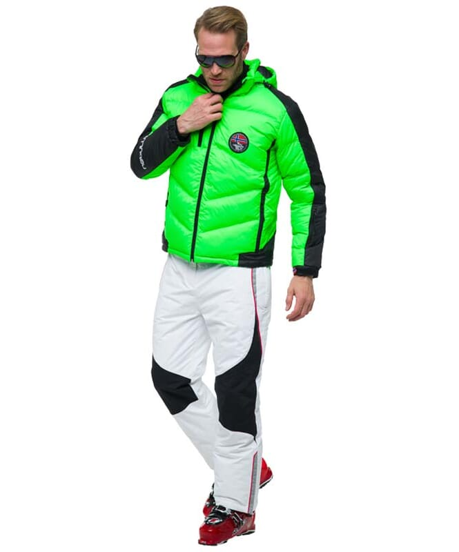 Skijacke SKIBRÖK Herren green flash