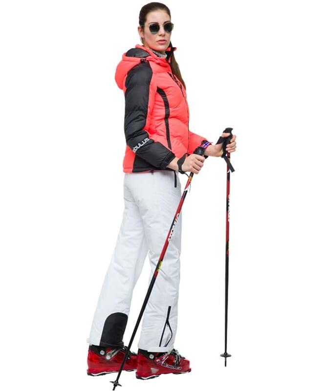 Skijacke SKIBRÖK Damen coralle