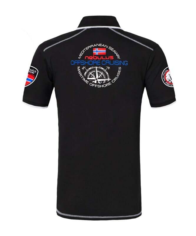 Poloshirt FORWARD Herren schwarz