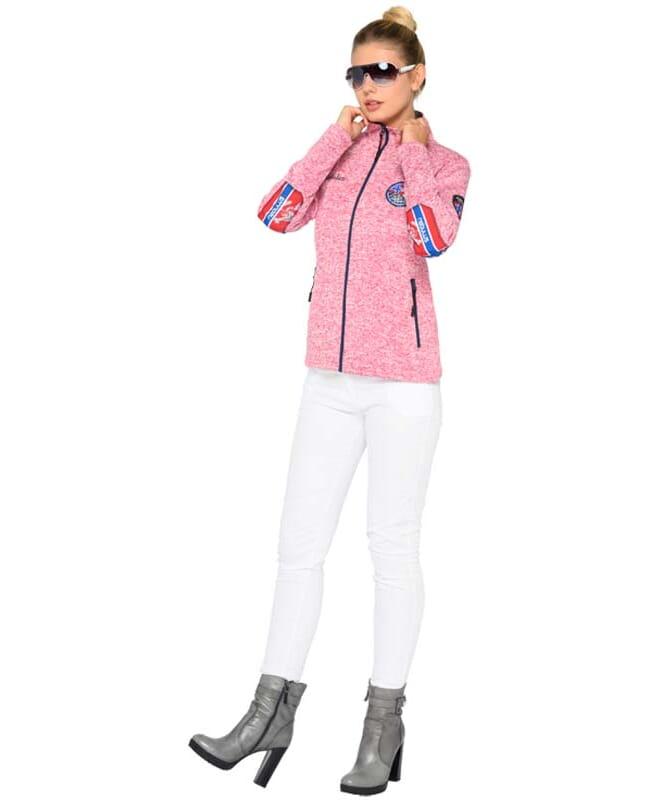 Fleecejacke FLENN Damen coral pink