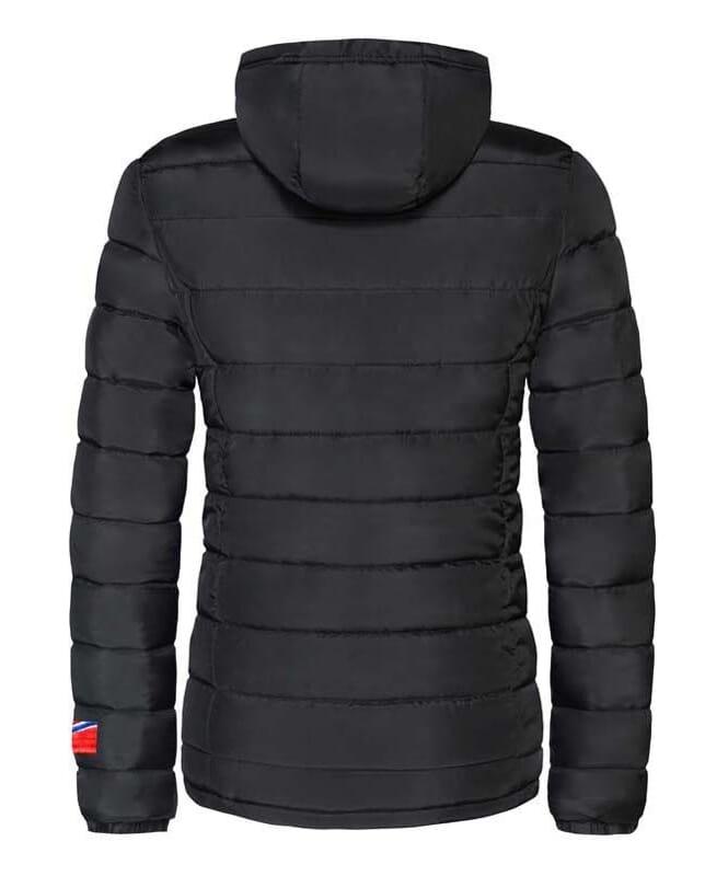 Winterjacke GLOWFUR Damen schwarz