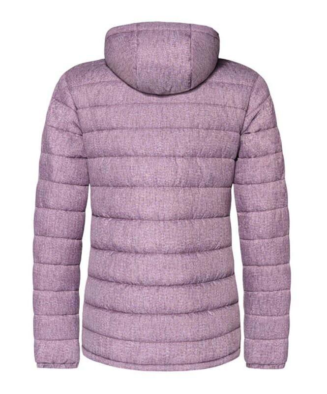 Veste d'hiver COLORS Femme aubergine