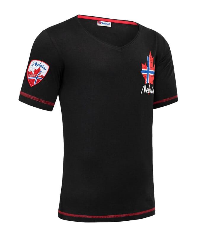 T-Shirt CORVIN Herren schwarz