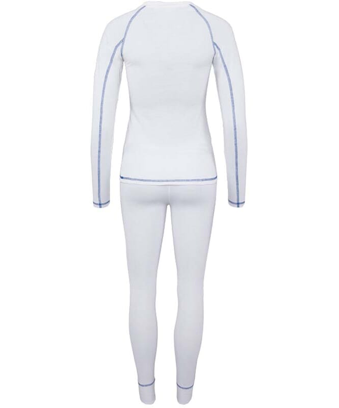 Skiunterwäsche Set THERMAL Damen weiß