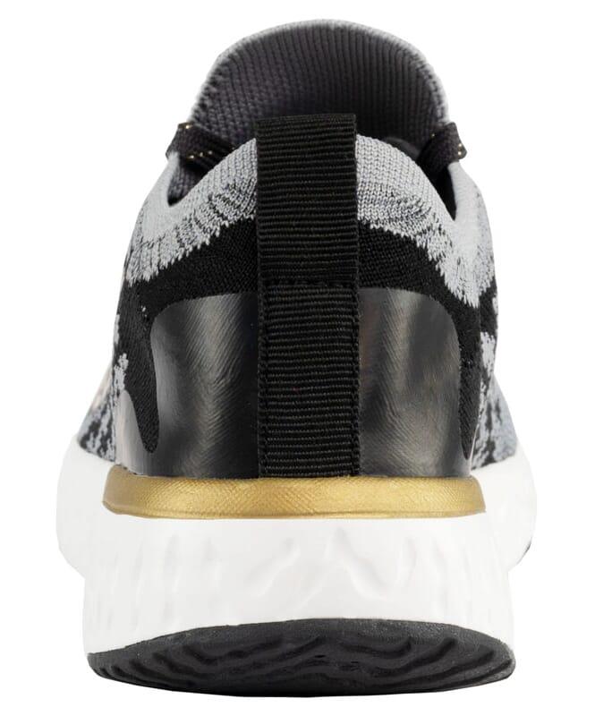 Sneaker UNIQUE Damen schwarz-gold