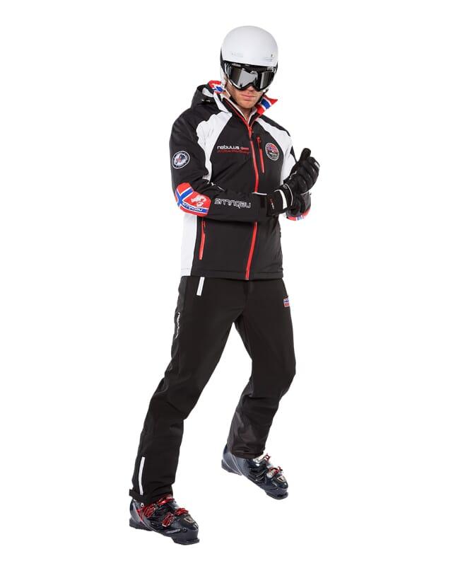 Skijacke MAESTRO SKI Herren schwarz